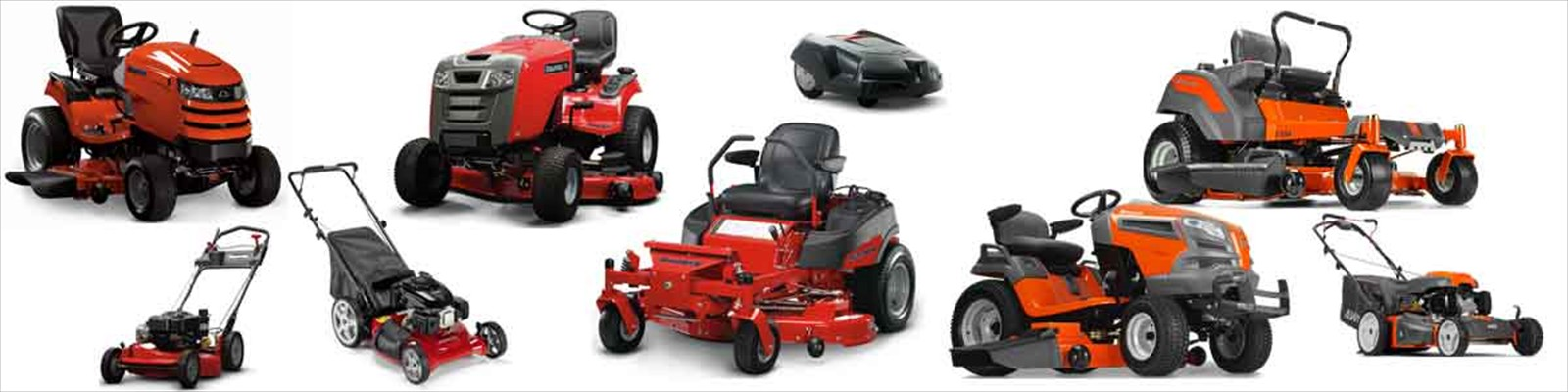 Lawn Mowers by Simplicity, Snapper, Encore, Masport and Jonsered