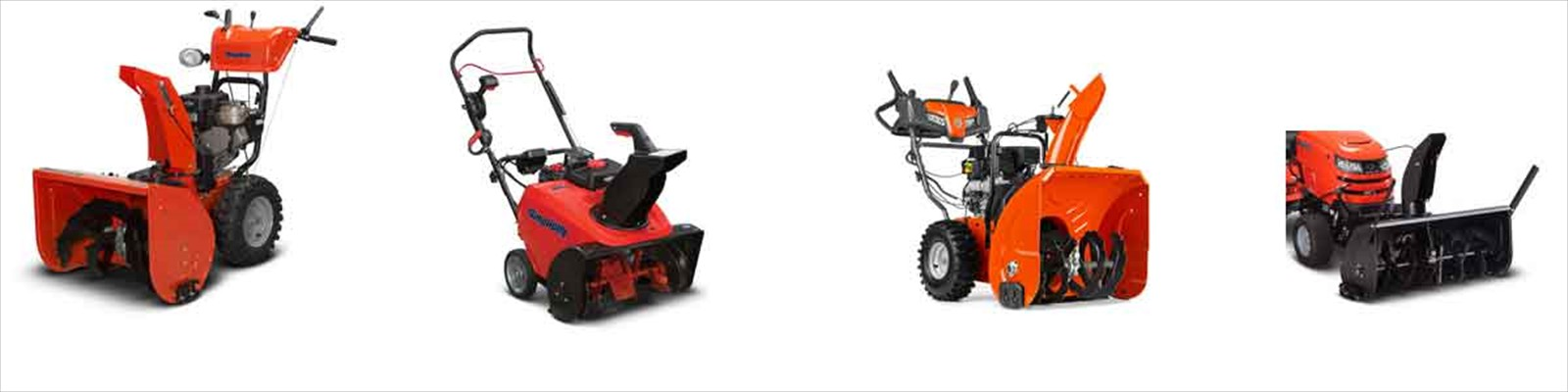Snow Blowers by Simplicity and Snapper